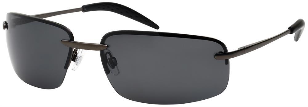 Rimless Sports Glasses : Premium Polarized Rimless Sports Sunglasses - 25124