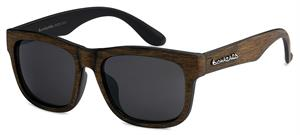 Biohazard Brown Faux Wood Sunglasses 66206