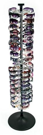 Rotating Floor Sunglass Display - Holds 72 Sunglasses #SFWI-72