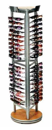 Rotating Floor Sunglass Display - Holds 120 Sunglasses #MPM-XP