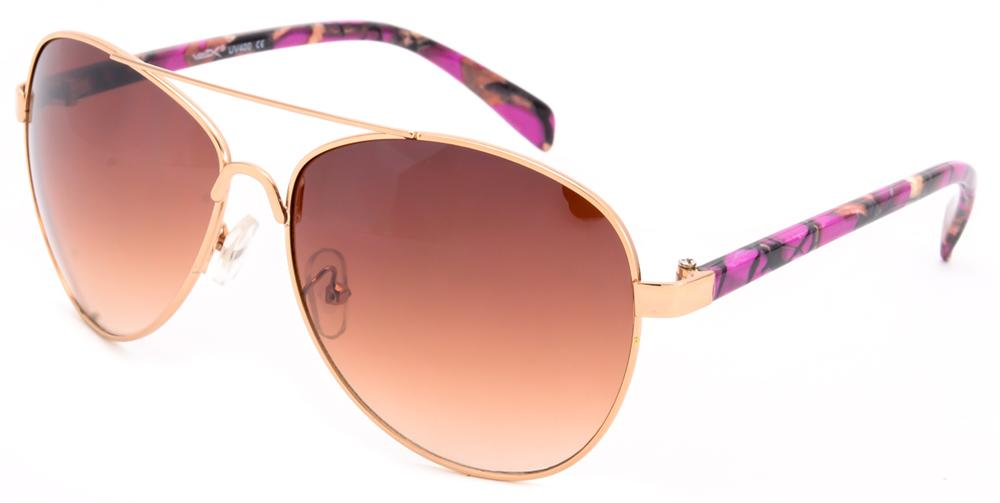 20861702b8 Women s pink camo aviator sunglasses - 56601