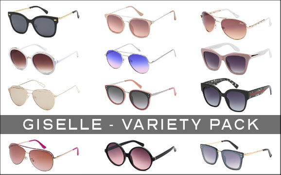 c2e4b2b780 WOMENS Giselle Variety Pack  204 - Miami Sunglasses